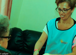 adiper, solidaridad cuidador profesional