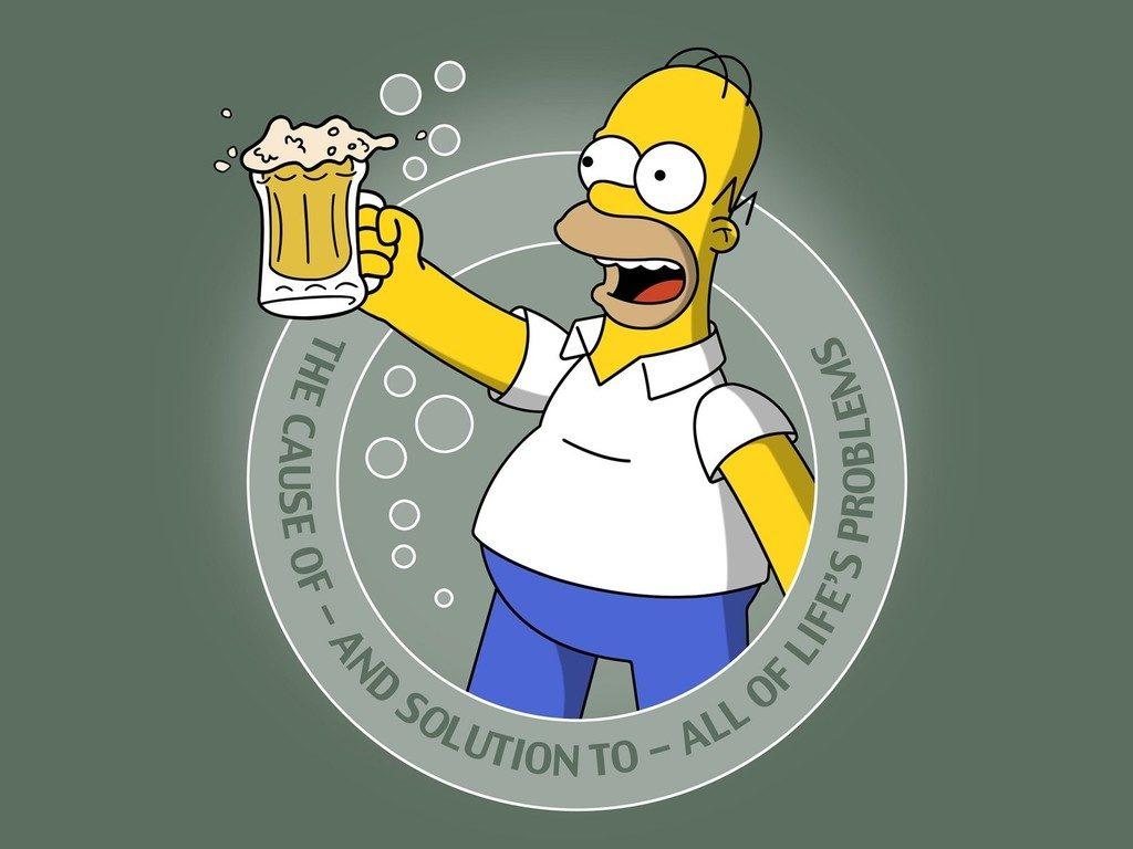Es sana la cerveza hommer