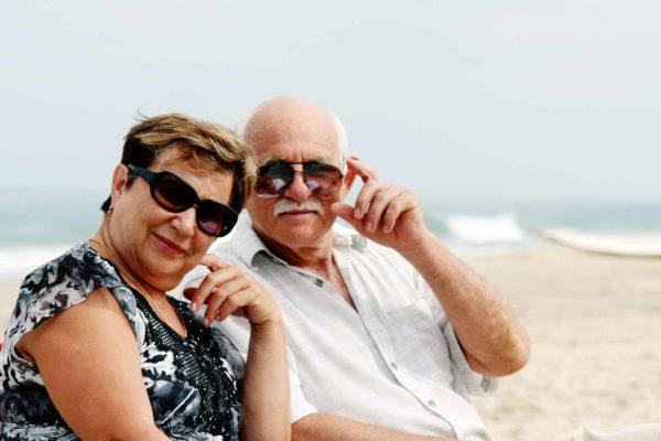 playa para los adultos mayores